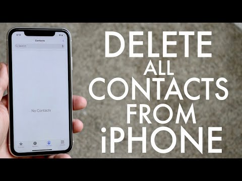 Learn how to delete contacts from iPhone in these simple to follow steps. Delete Contacts From iPhon.