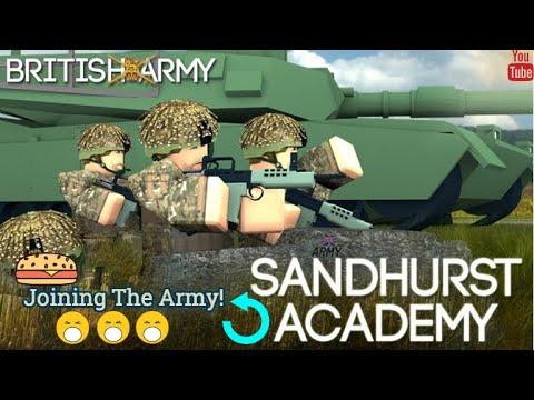 Sandhurst Military Academy Roblox