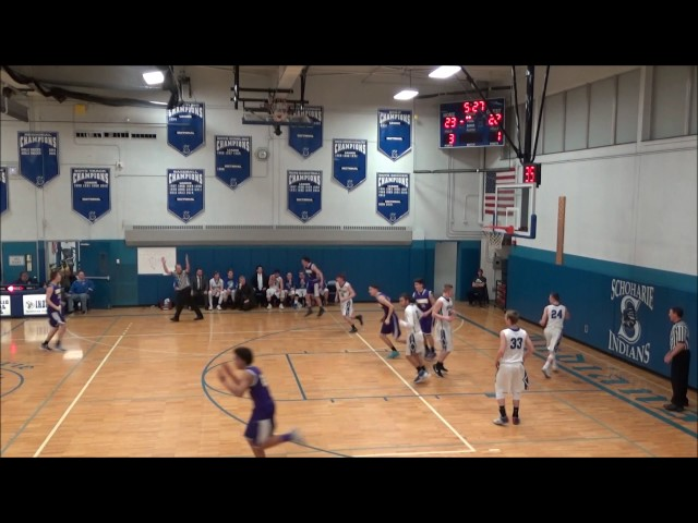 Game Highlights Boys' Varsity: Saratoga Catholic vs Schoharie