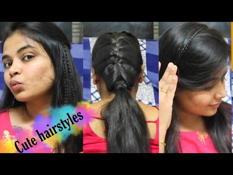 simple-and-cute-hairstyles-for-thin-hair--big-forehead-stylish-hairdos-easy-hairstyles-for-beginners