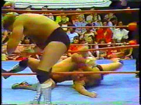 Arn Anderson & Matt Bourne vs. Terry Ellis & Mike Jackson [GCW 1983]