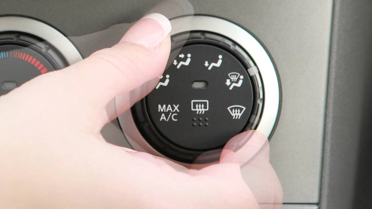 2012 NISSAN Sentra - Climate Controls - YouTube