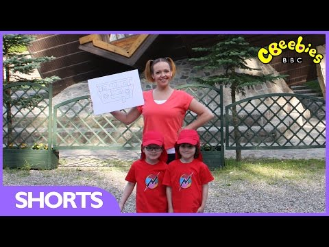 CBeebies: Nina and The Neurons: Get Building - Upside down house
