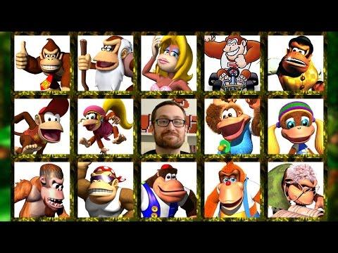 The Donkey Kong Family Tree