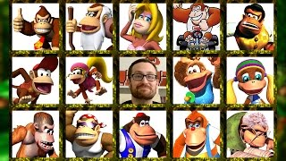 The Donkey Kong Family Tree