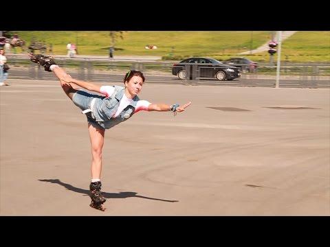 Катание на коньках (обучающее видео) смотреть онлайн