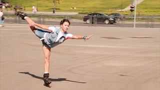 СпоРТ: Это ролики, детка! Как научиться кататься на роликах(Собираешься встать на ролики и не знаешь как? Инструктор Федерации Роллер Спорта и Казанской роллер-школы..., 2014-07-31T08:27:09.000Z)
