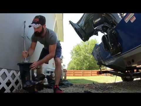 How to change impeller 2012 50 HP Mercury