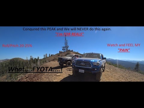Our 3rd Gen Tacoma TRD Off Road at Signal Peak Complete Trail FEEL OUR PAIN
