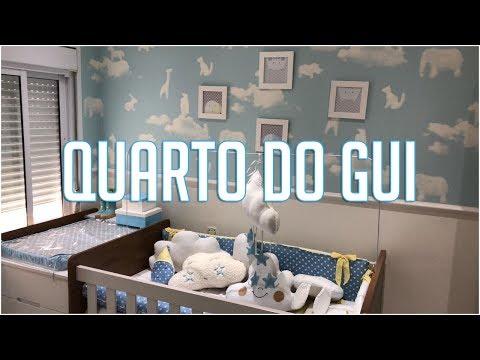 TOUR PELO QUARTO DO GUILHERME!