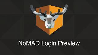 NoMAD Login Preview