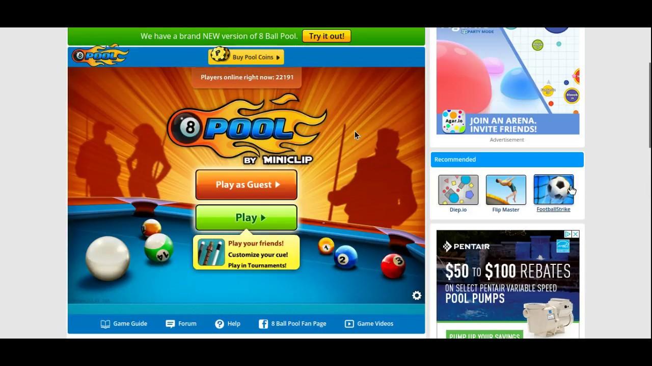 Pool Spiel
