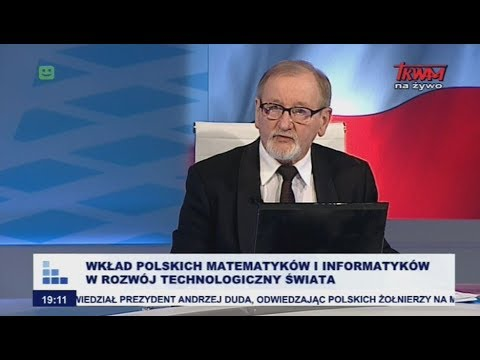 Rozmowy niedokończone: Wkład polskich matematyków i informatyków w rozwój techniczny świata cz.I