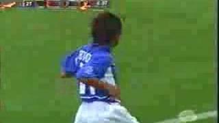 Golaço de Ronaldinho Gaucho contra a Inglaterra/ Copa 2002
