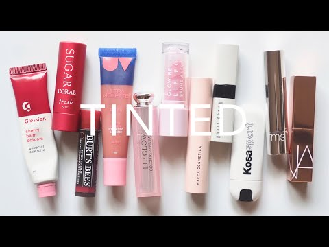 Tinted Lip Balms | Simple Sheer Colour and Subtle Shine | AD