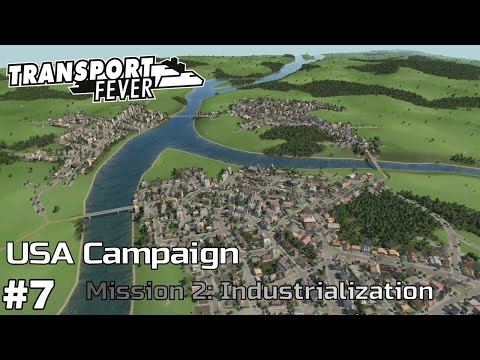 Convincing Pittsburgh - America Campaign [Mission 2] Transport Fever [ep7]