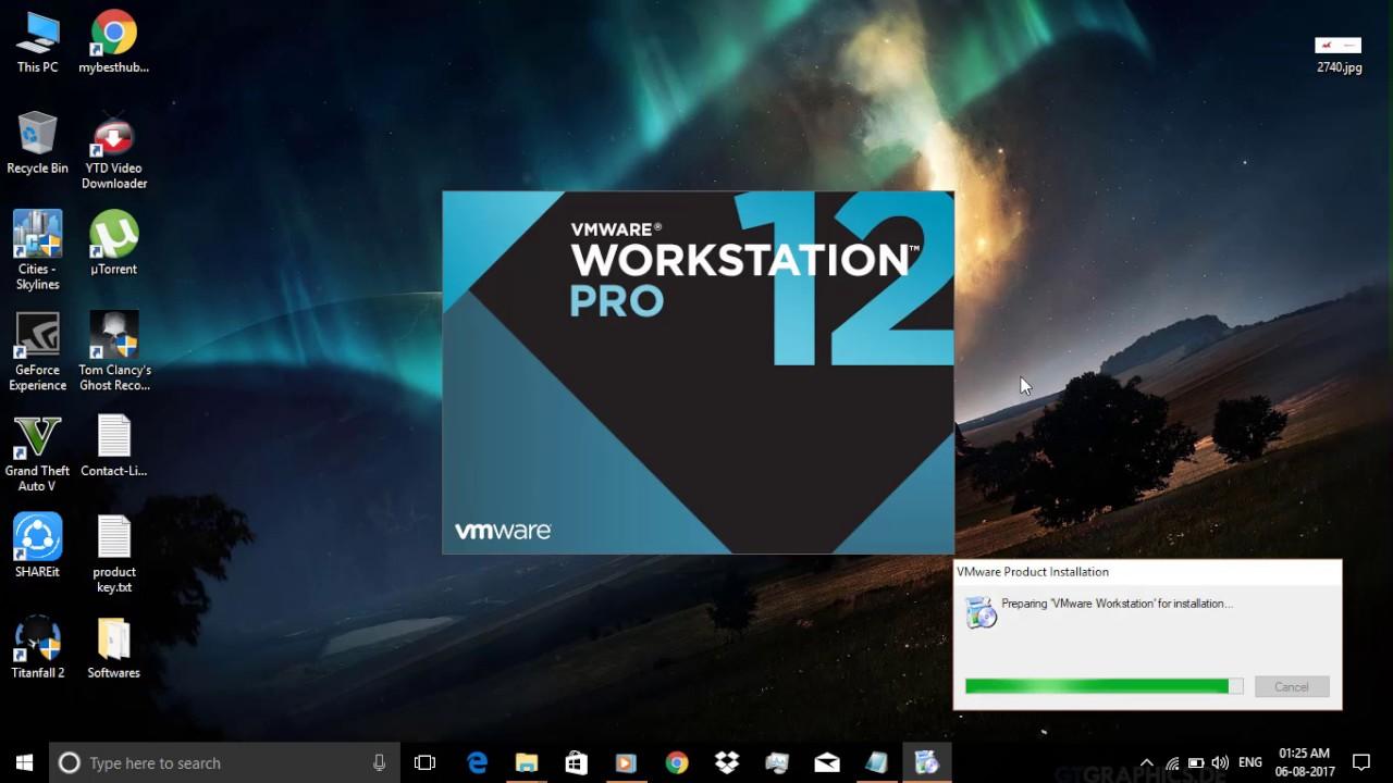 vmware workstation 12 pro version 12.5.9