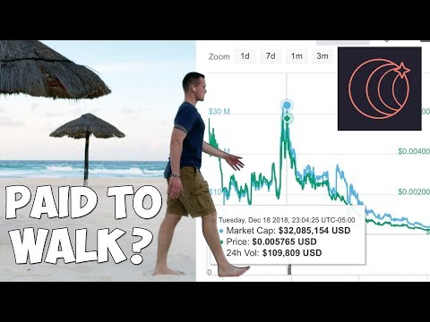 COIN App: How Much I Got PAID To WALK!