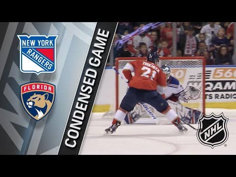 03/10/18 Condensed Game: Rangers @ Panthers