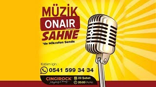 MüzikOnair Sahne İlk Etkinliği İzmir'de