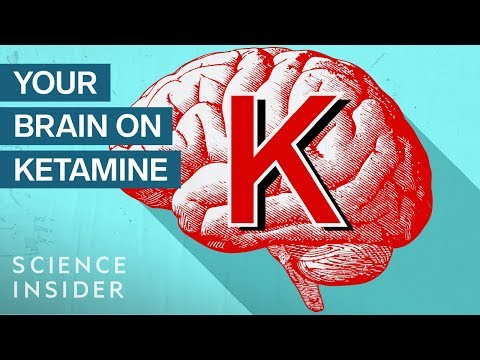 What Ketamine Actually Does To Your Brain