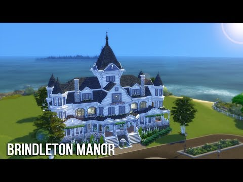 The Sims 4 Speed Build - Brindleton Manor
