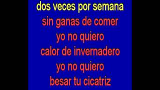 Contigo - Joaquin Sabina - karaoke Tony Ginzo