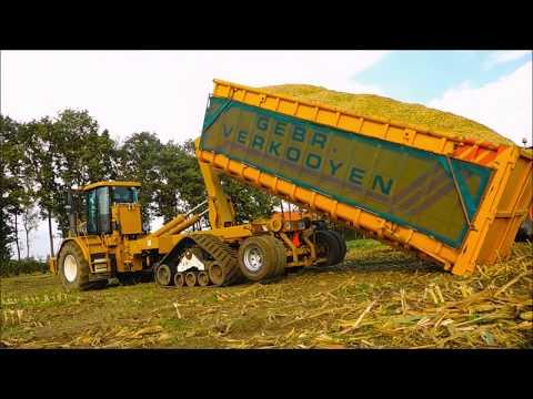 Mais Hakselen / Corn Choppinhg / Maisernte / Challenger Terra Gator / Drone Landbouw/ Silage