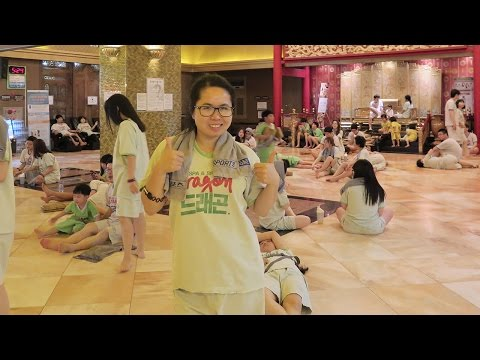 Jimjaebang Experience at Dragon Hill Spa | Yongsan South Korea