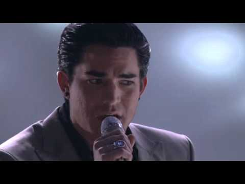 Adam Lambert - Tracks of My Tears (American Idol Performance)