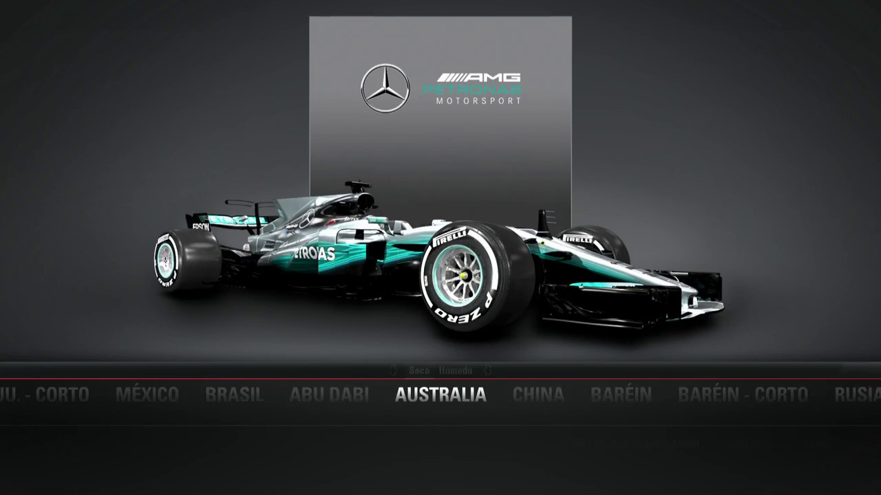 F1 2017 - MERCEDES - Spa (Belgica) PS4 - lojueguito.com - YouTube