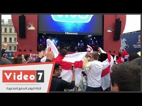 احتفال الجماهير الإنجليزية بأكبر فوز في المونديال  - نشر قبل 24 ساعة