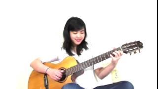 [Guitar] Thành Phố Buồn - Bé Mẫn( Virginia Nguyen) HD