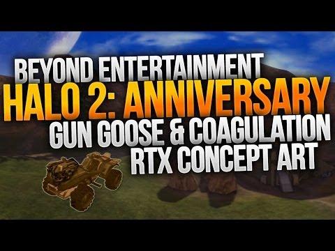 Halo 2 Anniversary Gun Goose & Coagulation Announced! [RTX PANEL 2014]