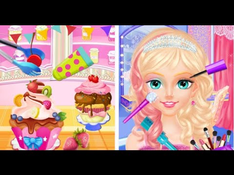 """My Cinderella Fairy Tea Party Android İos Free Game GAMEPLAY VİDEO """"Games for Girls"""""""
