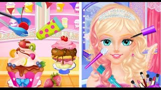 My Cinderella Fairy Tea Party Android İos Free Game GAMEPLAY VİDEO