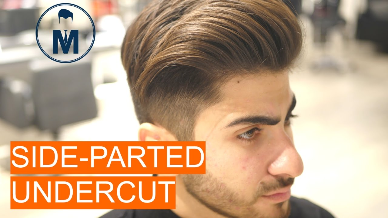 Side Parted Undercut Part 2 The Style Youtube
