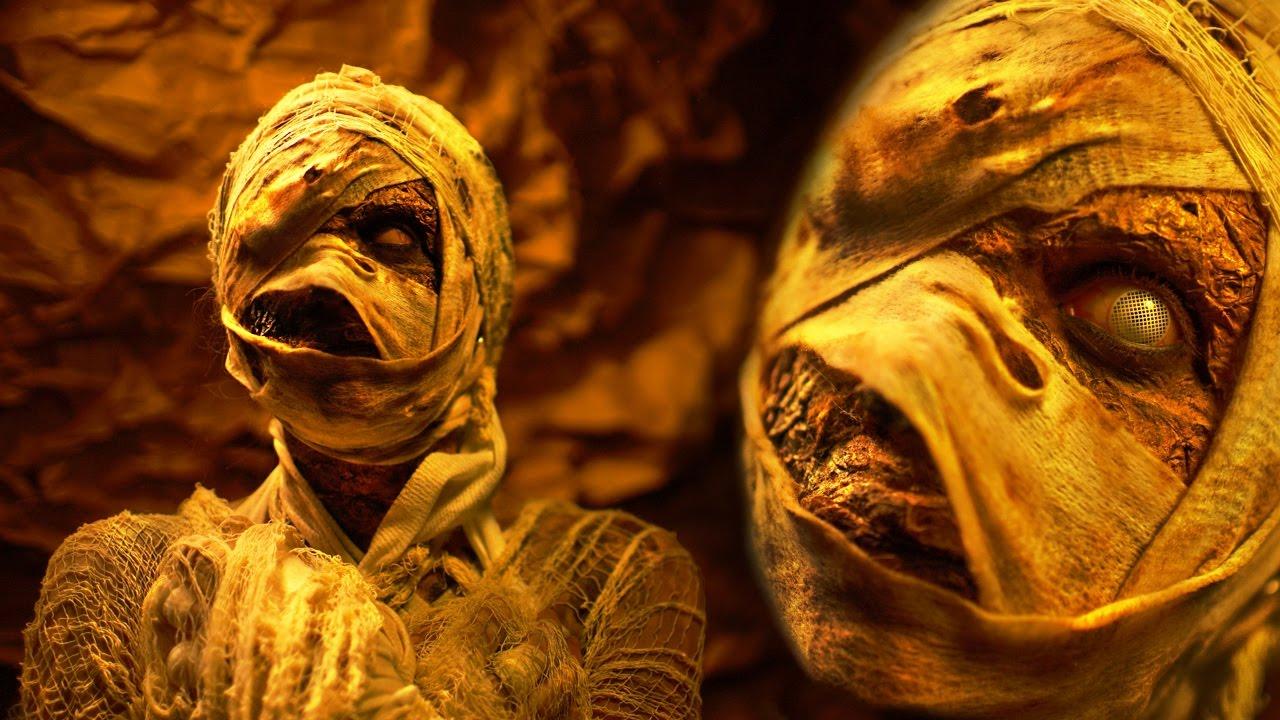mummy diy halloween costume amp makeup tutorial youtube