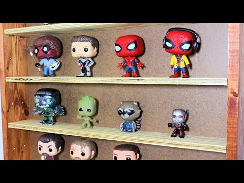 My Son Built Display Shelves for his Funko Pop Figures
