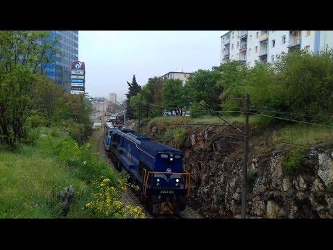 Vlakovi u Rijeci//Trains in Rijeka(Croatian railways)