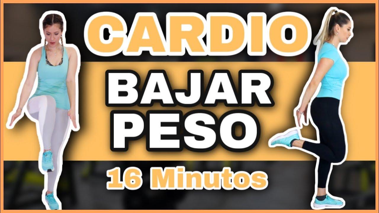 RUTINA PARA ADELGAZAR RAPIDO TODO EL CUERPO   Cardio HIIT 16 Minutos   NatyGlossGym