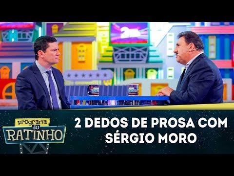 2 Dedos de Prosa com Sérgio Moro | Programa do Ratinho (18/06/19)