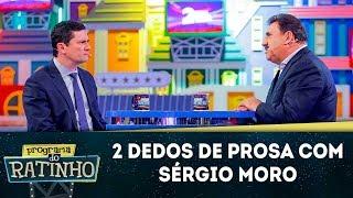 2 Dedos de Prosa com Sérgio Moro   Programa do Ratinho (18/06/19)