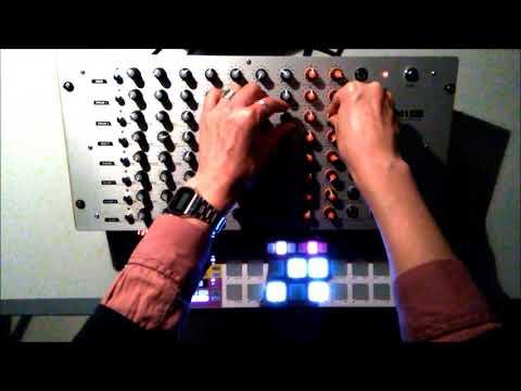 Improvisation on Vermona DRM1 + Beatstep Pro