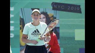 Aleksandra Krunic vs. Jeļena Ostapenko |  US Open 2019 R1 Highlights