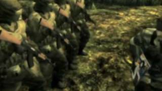 Metal Gear Solid 3 Subsistence - Metal Gear Online Trailer - PS2
