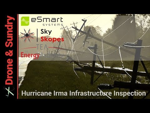 Hurricane Irma Drone Infrastructure Inspections