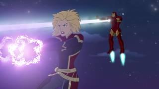 Marvel Super Hero Adventures: Frost Fight! (2015) - Trailer