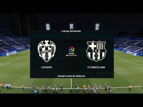 Levante vs Barcelona | Estadi Ciutat de València | 2020-21 La Liga | PES 2021