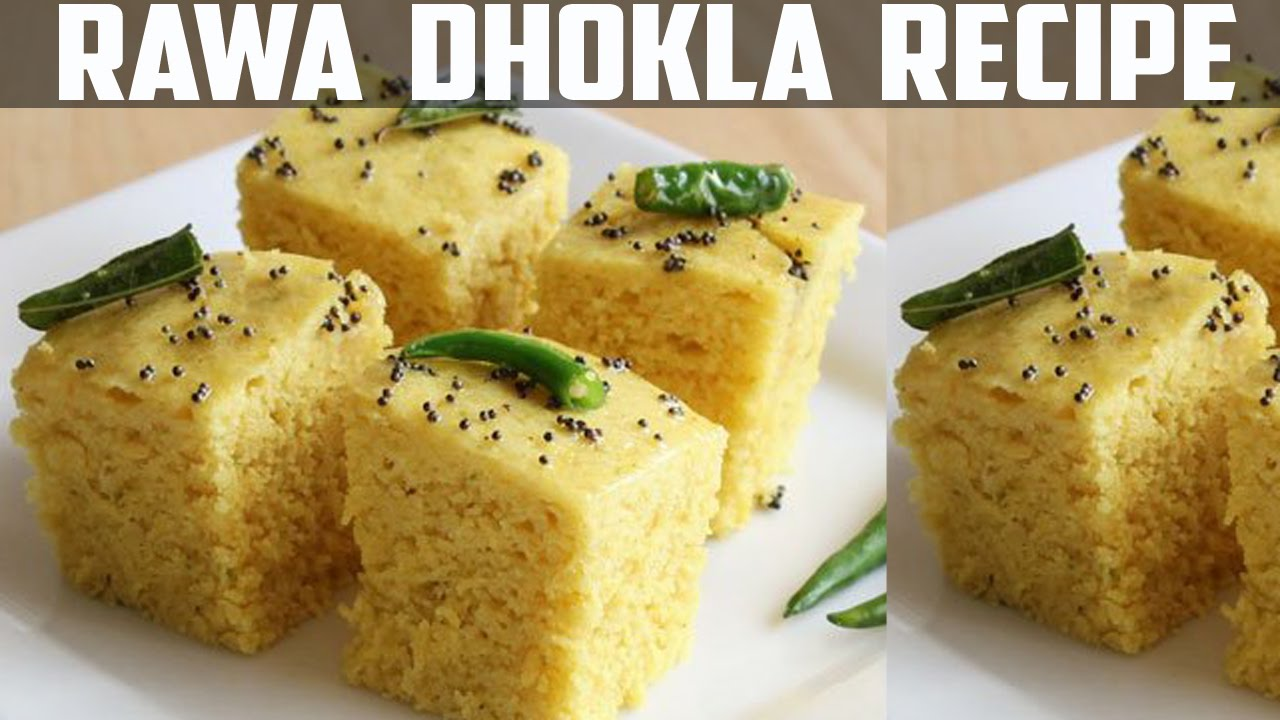 Instant rava dhokla recipe in hindi make within 10 minutes youtube forumfinder Images